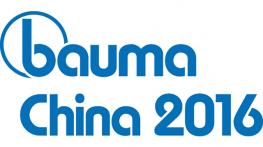 We are pleased to welcome you to visit our booth at Bauma China 2016