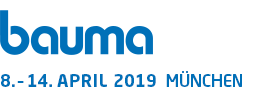 Bauma 2019,8th-14th April, Munich Germany